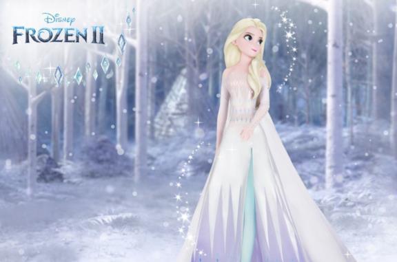 La statua di Elsa di Frozen