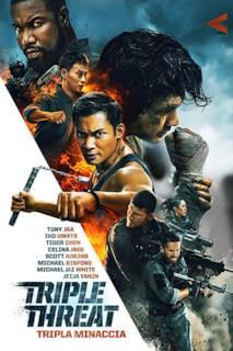 Poster Triple Threat - Tripla minaccia