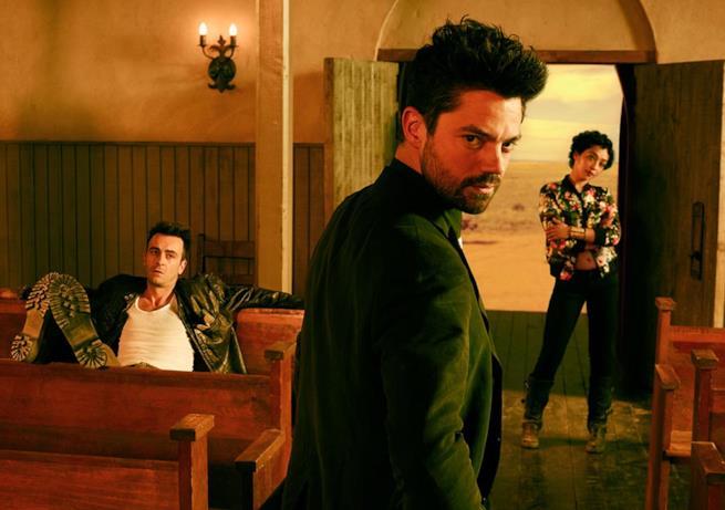 Jesse, Cassidy e Tulip nella serie TV Preacher
