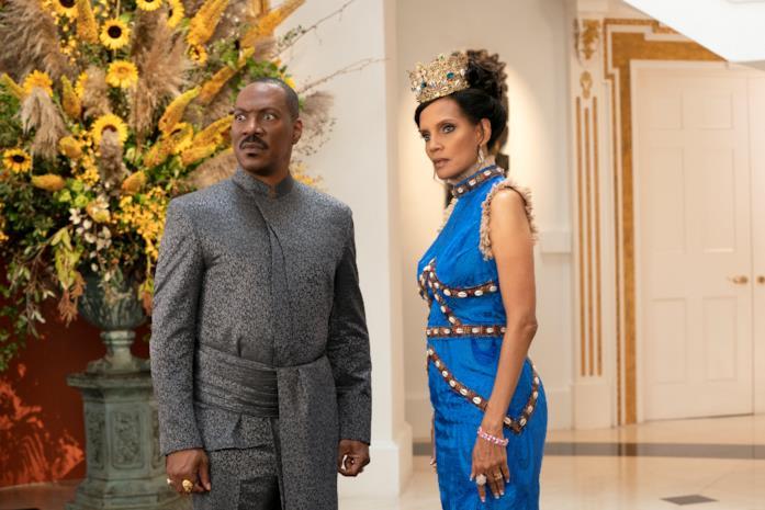 Akeem e Lisa ne Il principe cerca figlio