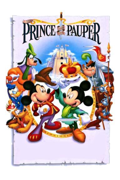 Poster Il principe e il povero