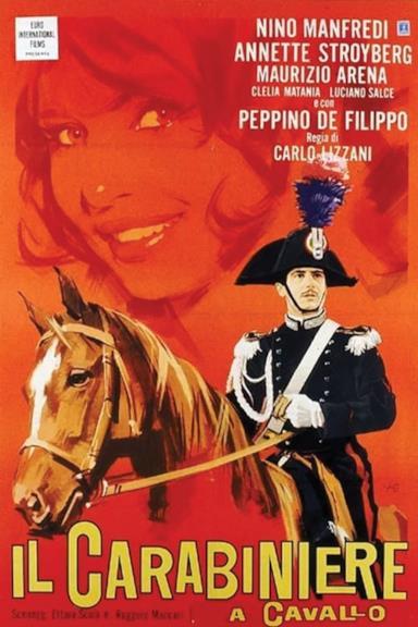 Poster Il carabiniere a cavallo