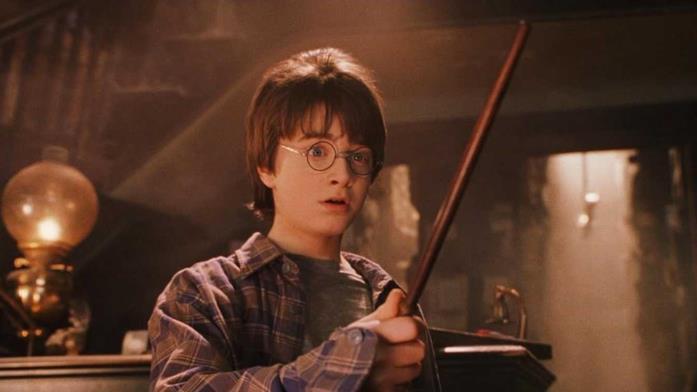 Una scena di Harry Potter e la pietra filosofale