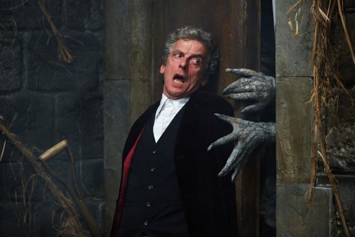 Peter Capaldi in una scena di Doctor Who