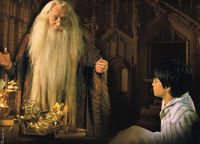 Silente offre ad Harry dei dolci