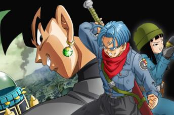 Black Goku, Trunks e Mai in Dragon Ball Super