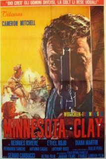 Poster Minnesota Clay