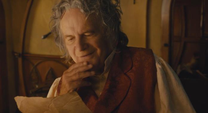 Ian Holm ne Lo Hobbit
