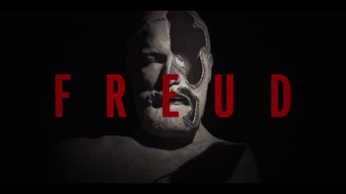 Una parte della testa di Freud nella sigla dell'episodio 4 è stata tagliata via di netto