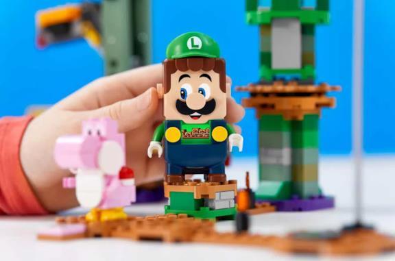 Le prime immagini del set LEGO di Luigi
