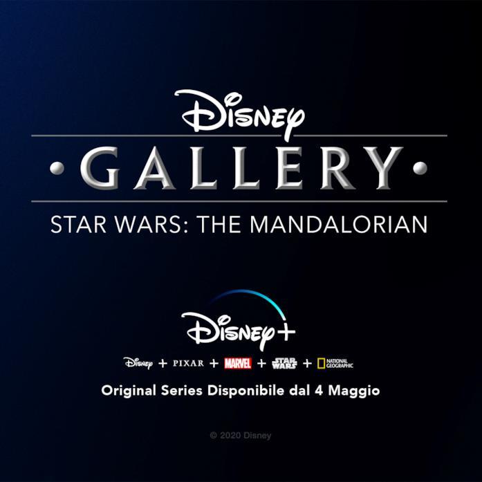 Il logo della docuserie Disney Gallery: Star Wars: The Mandalorian