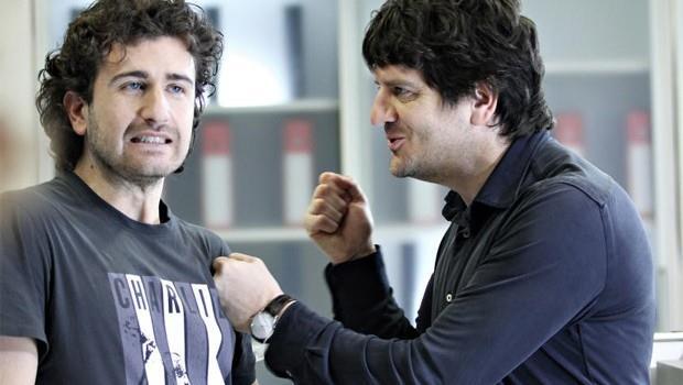 Fabio De Luigi con Alessandro Siani