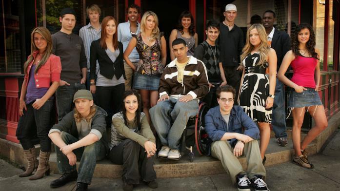 Il cast di Degrassi: The Next Generation