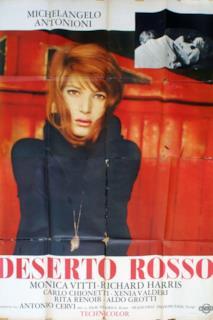 Poster Il deserto rosso