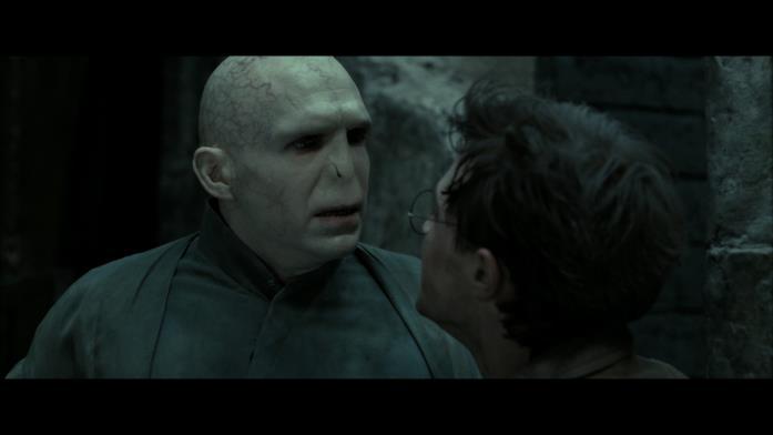 Il faccia a faccia tra Harry e Voldemort nell'ultimo film