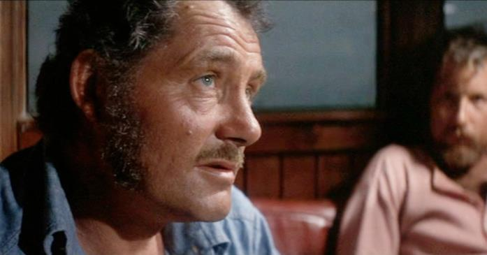 Quint ne Lo Squalo è interpretato da Robert Shaw