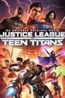 Poster Justice League vs. Teen Titans