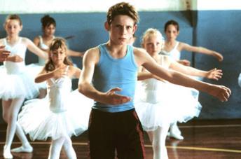 Jamie Bell è Billy Elliot nell'omonimo film