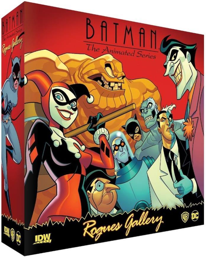 Il box del gioco da tavolo Batman The Animated Series: Rogues Gallery