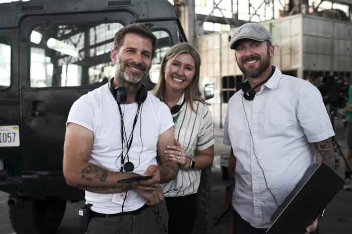 Zack Snyder e i produttori