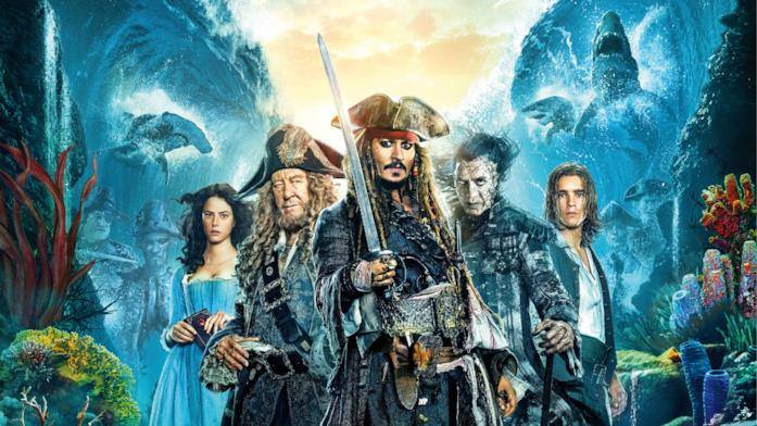 I protagonisti di Pirati dei Caraibi - La vendetta di Salazar