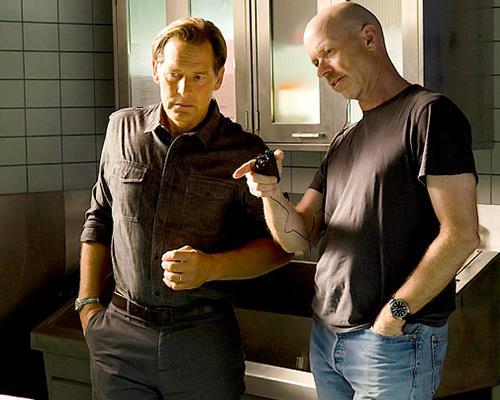 James Remar, l'attore che interpreta Harry Morgan, il padre di Dexter