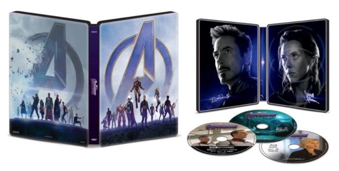 Le cover estere e interne di Avengers: Endgame