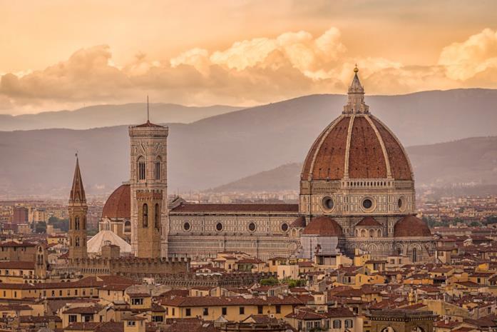 Un'immagine di Firenze