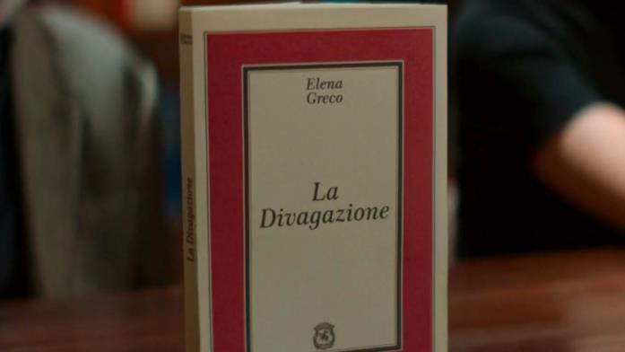 La divagazione è il primo romanzo di Elena Greco