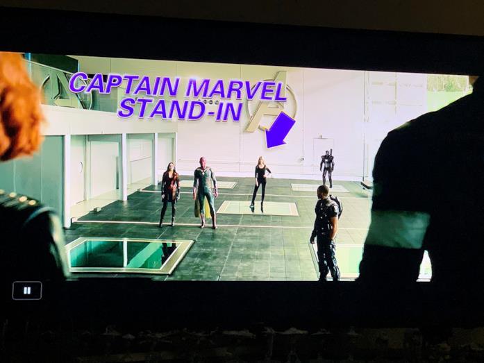 Carol Danvers appare in una scena poi modificata di Avengers: Age of Ultron
