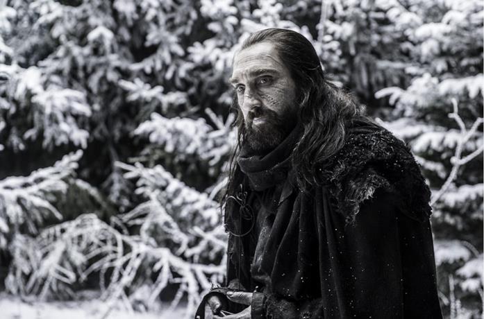 Joseph Mawle nel ruolo di Benjen Stark in GoT