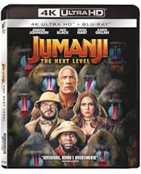 Jumanji: The Next Level - 4K Ultra Hd  (2 Blu Ray)