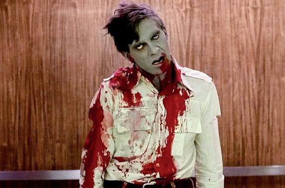 Una zombie dal film omonimo di Romero