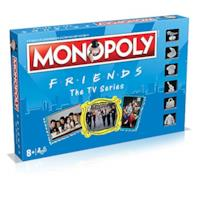 Winning Move s- Friends Monopoly Italian Edition