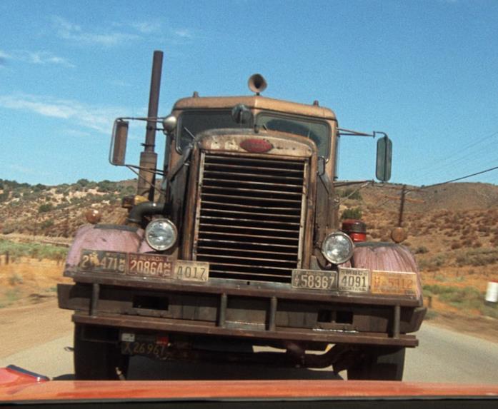 Il camion protagonista di Duel