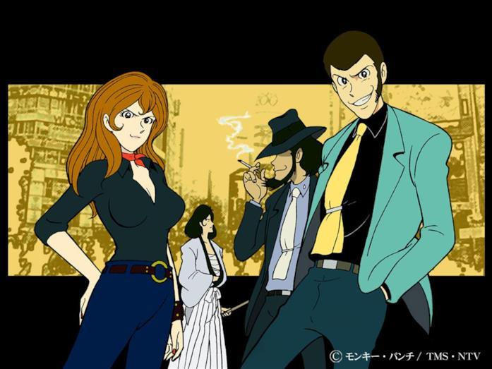 Lupin III personaggi