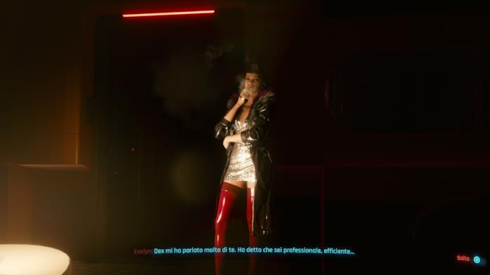 Cyberpunk Evelyn