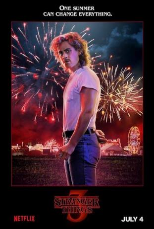 Billy, protagonista di Stranger Things 3