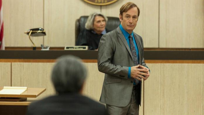 Bob Odenkirk in una scena della quinta stagione di Better Call Saul