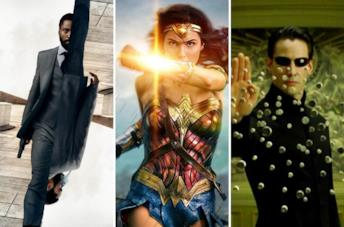Immagini da Tenet, Wonder Woman e Matrix