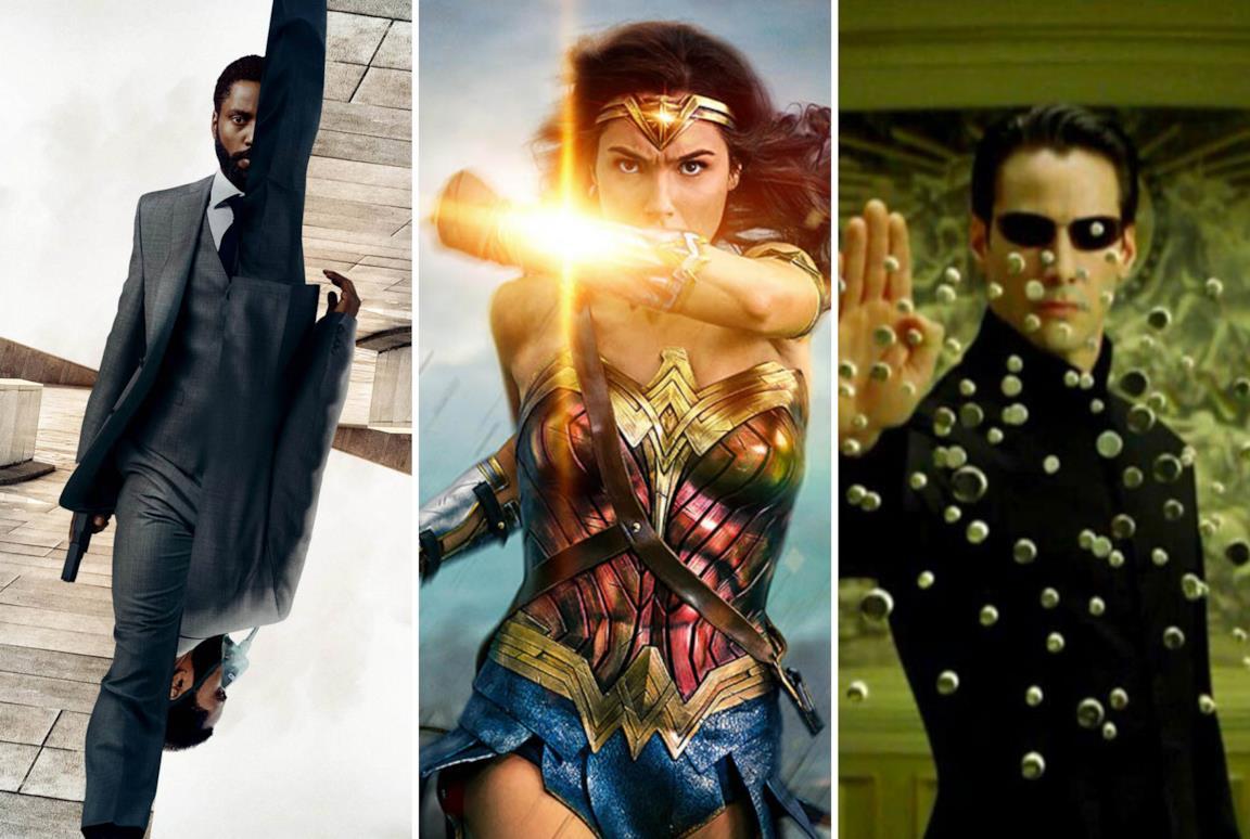 Immagini da Tenet, Wonder Woman e Matrix