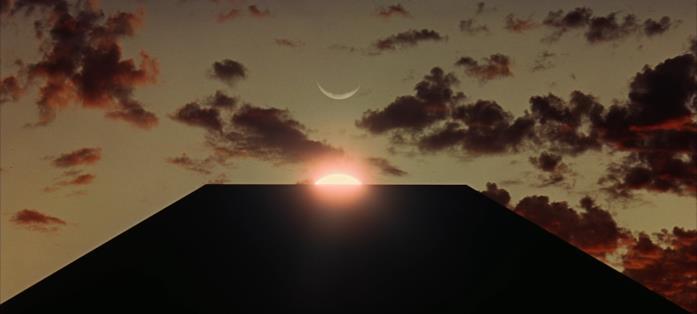 Una scena tratta dal film 2001: Odissea nello spazio