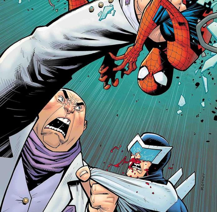 Cover di Amazing Spider-Man #28