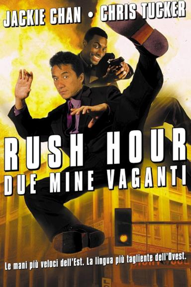 Poster Rush Hour - Due mine vaganti