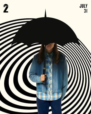 Il character poster di Umbrella Academy 2 con Vanya