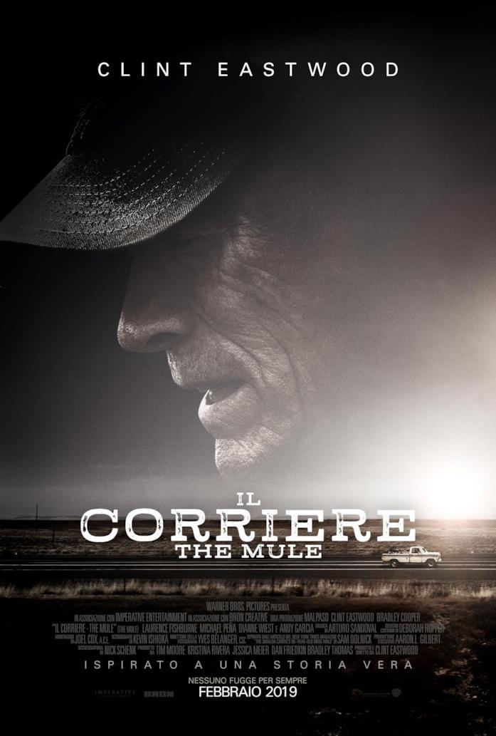 Clin Eastwood nel poster de Il Corriere - The Mule