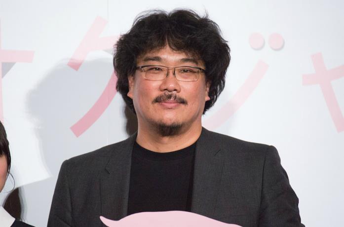 Un'immagine del regista Bong Joon-ho