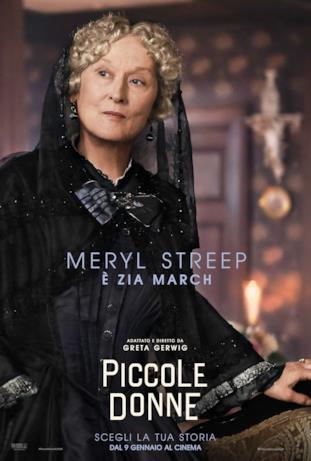 La burbera zia March sarà interpretata da Meryl Streep