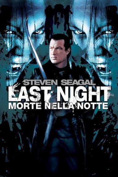 Poster Last night - Morte nella notte