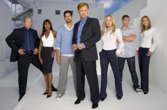 Alcuni dei membri del cast di CSI: Miami